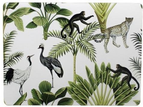 Set 4 placemats jungle