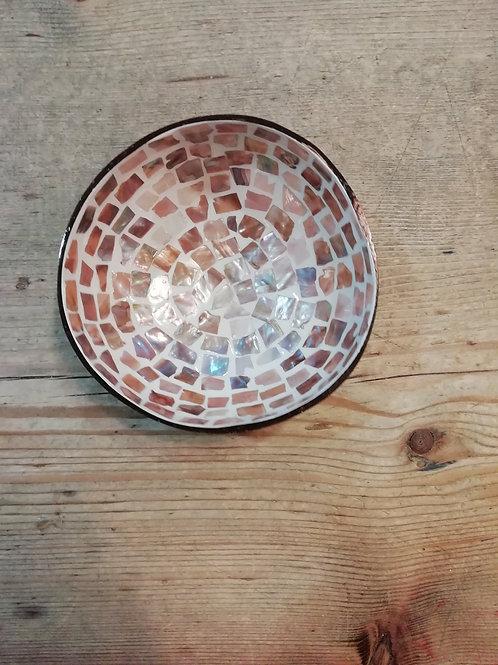 Coconut bowl mozaiek