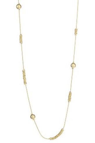 Halsketting lang goud