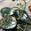 Thumbnail: Noya bowl green metallic leaf