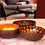 Thumbnail: Noya bowl oranje metallic leaf