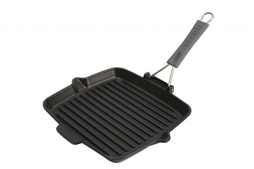 Vierkante grillpan Staub 24x24