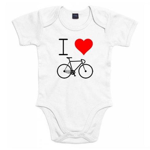 Babyromper Love to bike!
