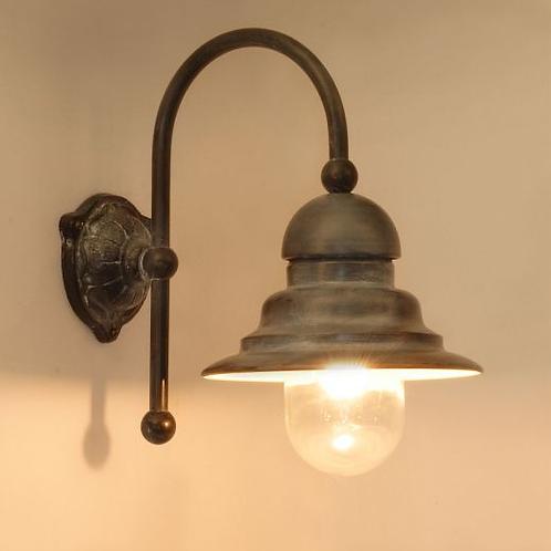 Buitenlamp loodkleur (laatste stuk)