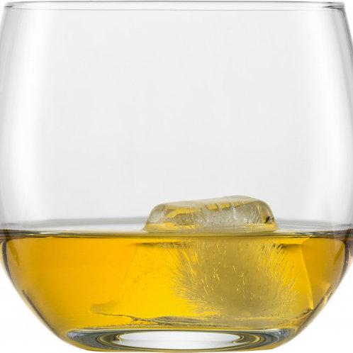 set 6 glazen water/whisky