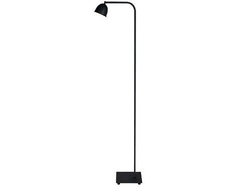 Vloerlamp zwart mat
