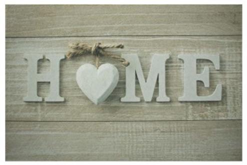 Deurmat hart home