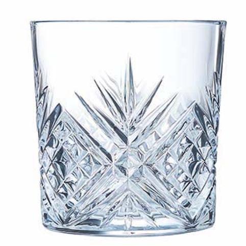 Glas water/wisky