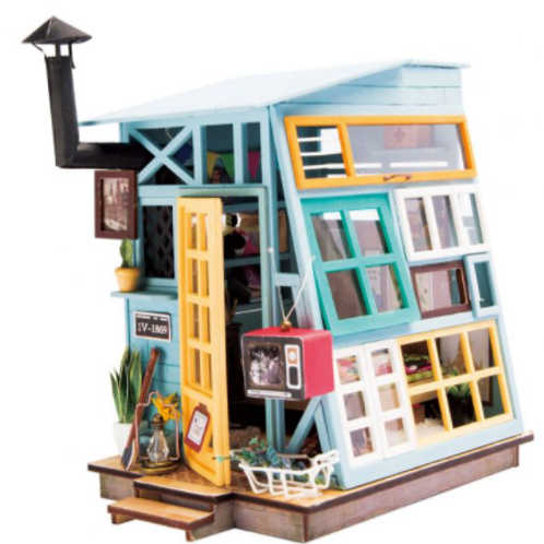 DIY Houten huisje