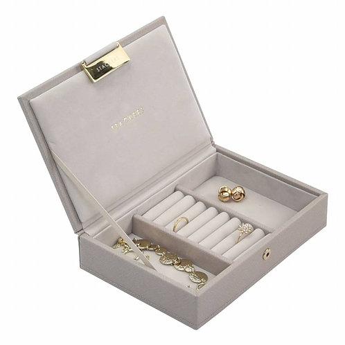 Stackers juwelendoos mini taupe