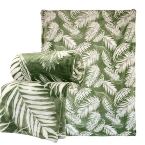 Plaid leaf groen
