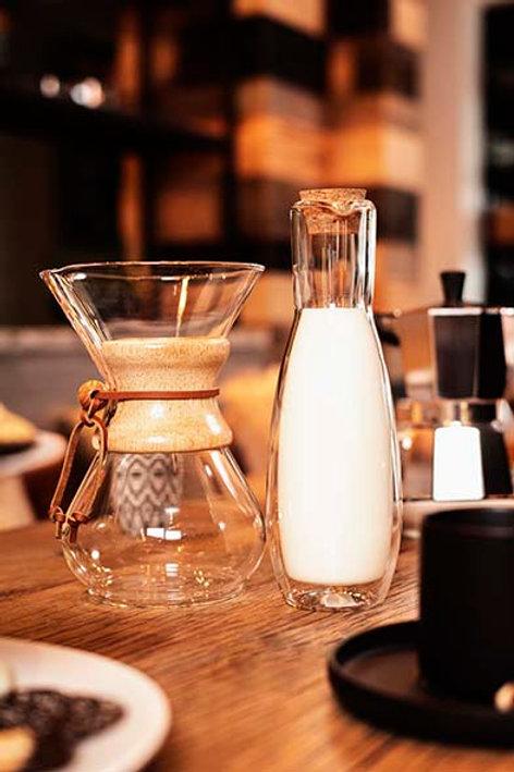 Koffiemaker 8 tassen slow coffe