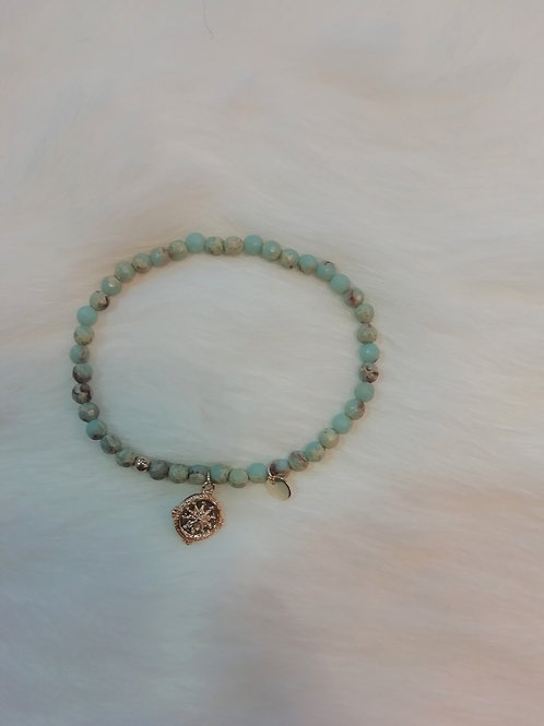 Armband multicolor turquoise