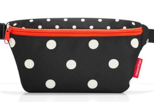 Beltbag dots rood-zwart