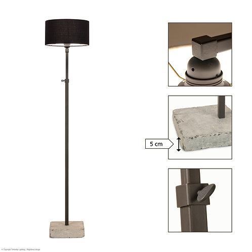 Vloerlamp Brunetto+kap