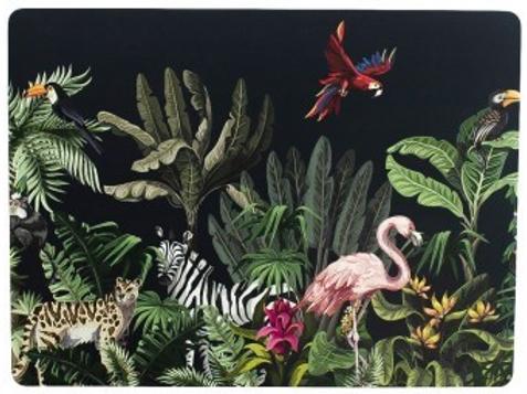 Set 4 placemats junglelife