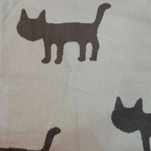 Handdoek Kat beige