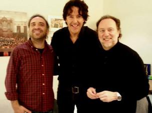 Michiel Borstlap with Riccardo Chailly and Stefano Bollani
