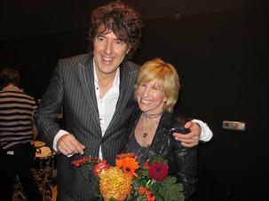 Michiel Borstlap with Lori Lieberman