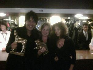 Michiel Borstlap with Anneke Blok and Paula van der Oest