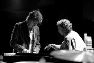 Michiel Borstlap with Bill Bruford in Tokyo - Japan