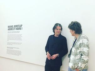 Michiel with Ralph Keuning - director Museum de Fundatie