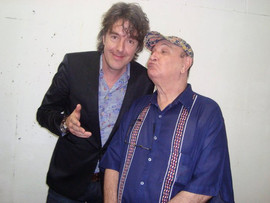 Michiel Borstlap with Joao Donato in Brasilia - Brasil