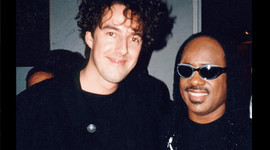 Michiel Borstlap with Stevie Wonder