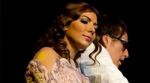 Michiel Borstlap with Assala Nasri