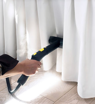 Ironing with Garment Steamer