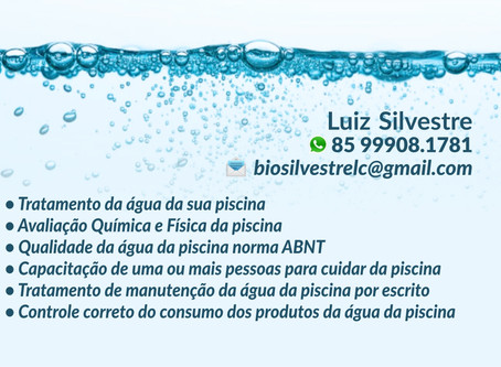 Tratamento de águas de piscinas conforme a norma da ABNT.