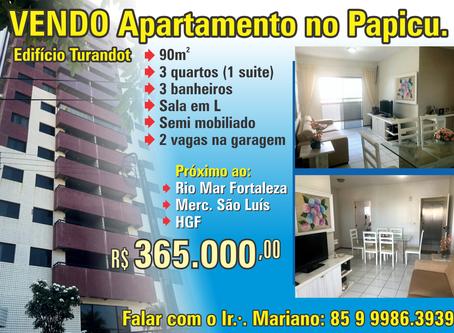 Vende-se apartamento no Papicu.