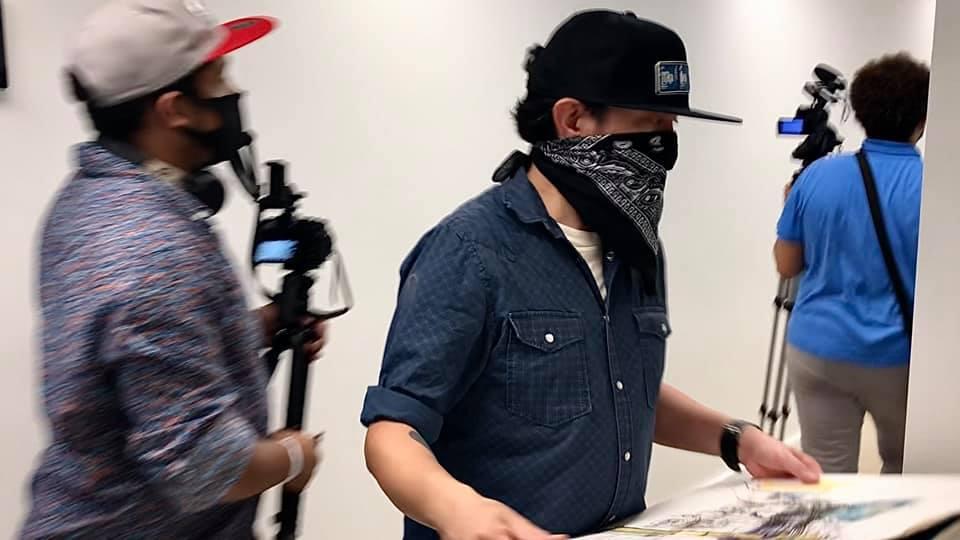 PBS filming Jedidiah Dore
