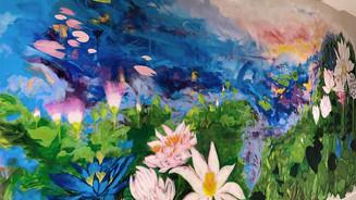 """Haven"" Botanical Garden mural"