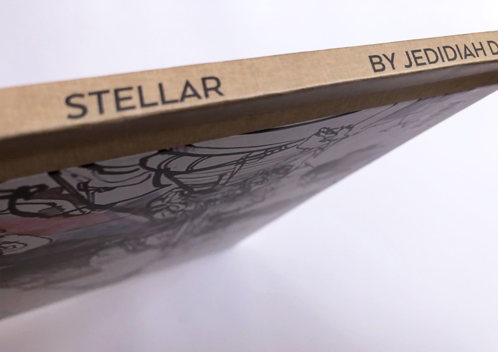 Stellar book spine.