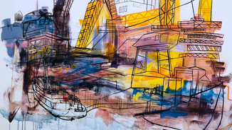 """Navy Yard"" mural"