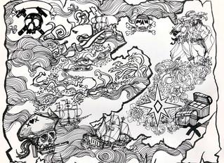 New Treasure Map Illustration