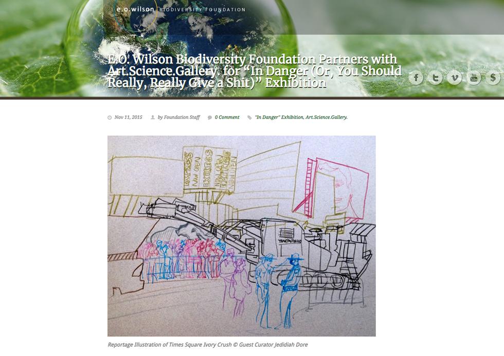 EO Wilson website.