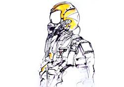 Navy aviator.