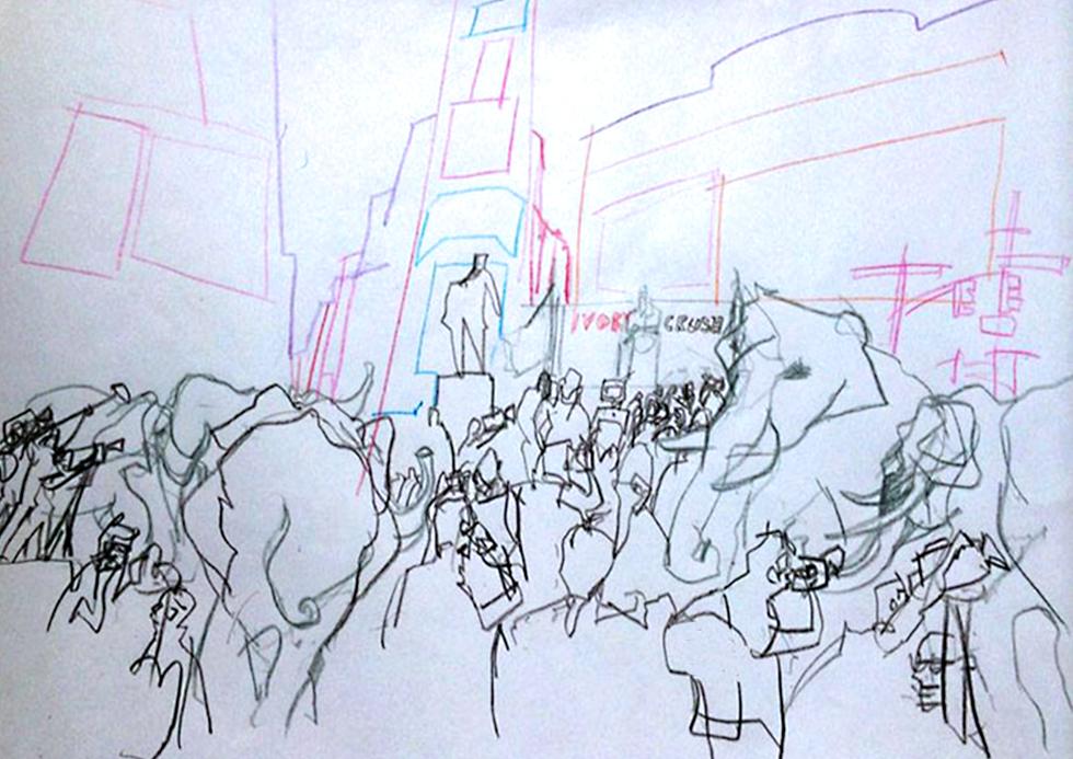 """if elephants could speak"""