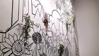 """Flourish"" mural"