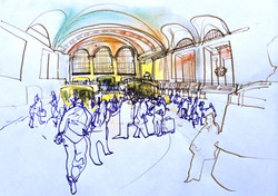 Grand Central Terminal art.