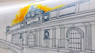 Grand Central Terminal mural
