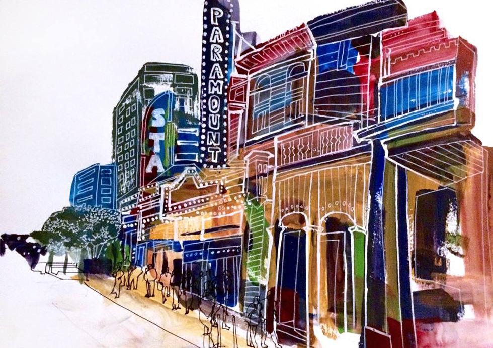 Paramount Theater- Austin