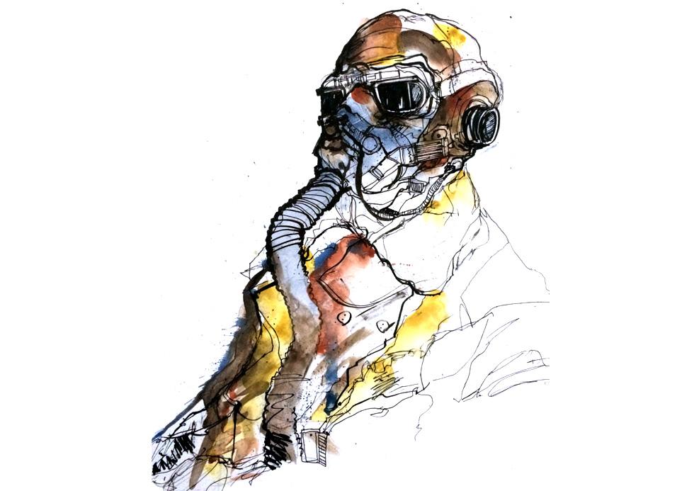 RAF pilot.