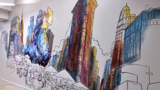 """Made in Manhattan"" mural"