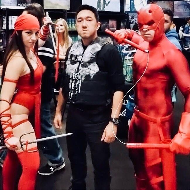 Elektra, The Punisher, Daredevil
