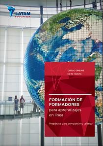 Brochure Certificación de aprendizaje en línea de LATAM Education