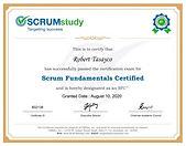 Certificación SCRUMstudy
