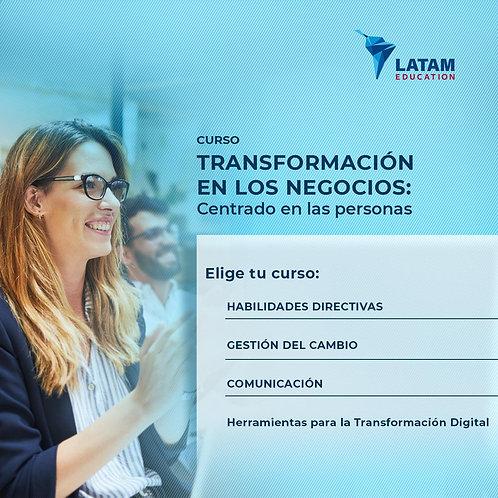 Transformación en los negocios: centrado en las personas   Versión modular